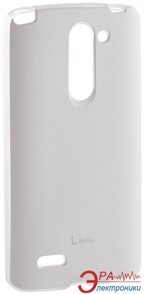 Чехол VOIA LG Optimus L80+ Dual (D335/Bello) - Jell Skin White