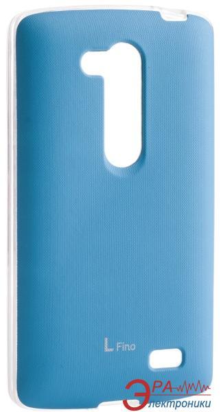 Чехол VOIA LG Optimus L70+ Dual (D295/Fino) - Jell Skin Blue