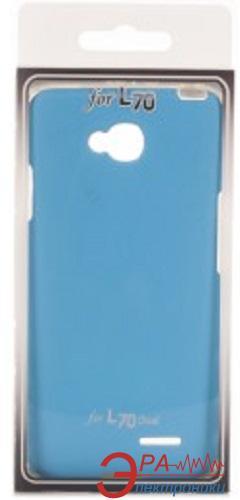 Чехол VOIA LG Optimus L70+ Dual (D295/Fino) - Jell Skin (Blue)