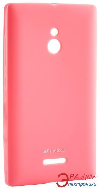 Чехол Melkco Nokia XL Poly Jacket TPU Pink (NKNXXLTULT3PKPL)