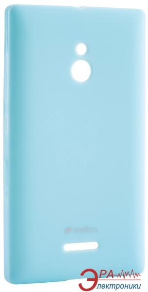 Чехол Melkco Nokia XL Poly Jacket TPU Blue (NKNXXLTULT3BEPL)