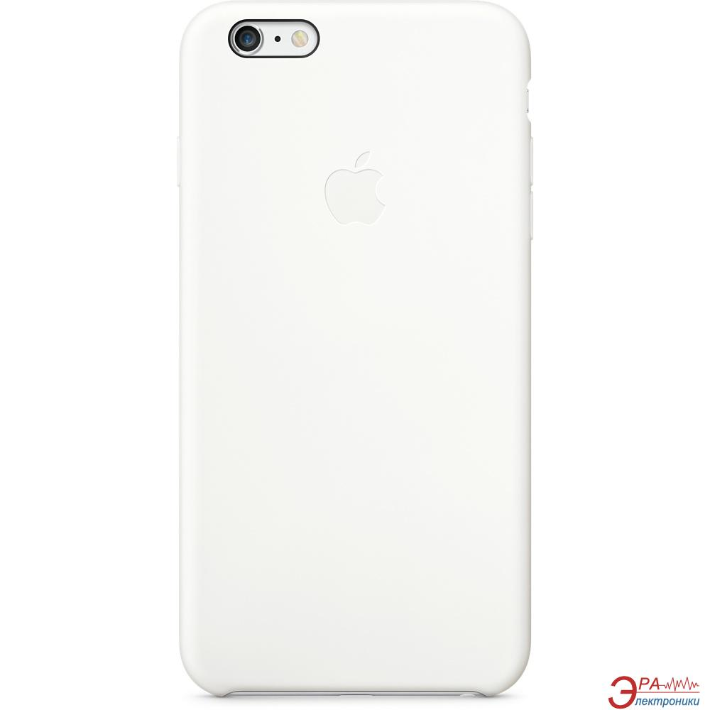 Чехол Apple iPhone 6 Plus Silicone Case White (MGRF2ZM/A)