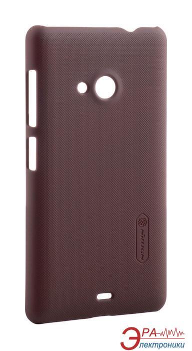 Чехол Nillkin Microsoft Lumia 535 - Super Frosted Shield Brown