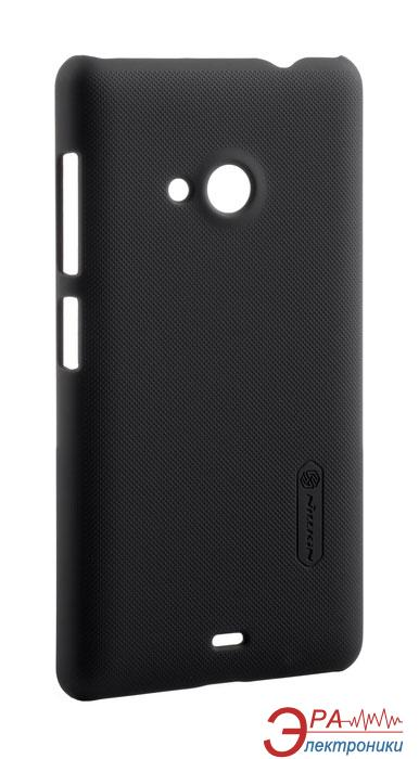 Чехол Nillkin Microsoft Lumia 535 - Super Frosted Shield Black