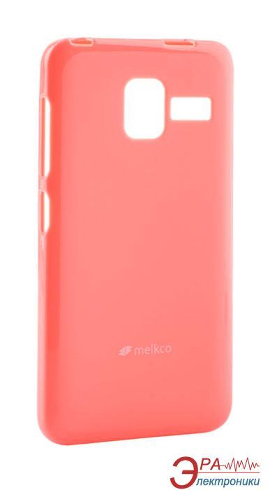Чехол Melkco Lenovo A850+ Poly Jacket TPU Pink (LNLA85TULT3PKPL)