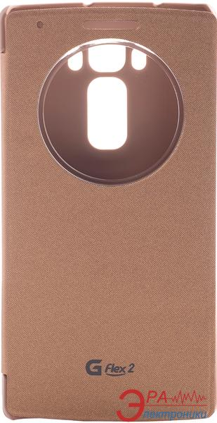 Чехол VOIA LG Optimus G Flex 2 - Flip Case Gold