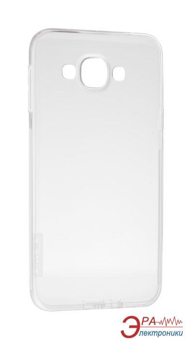 Чехол Nillkin Samsung E7/E700 - Nature TPU White