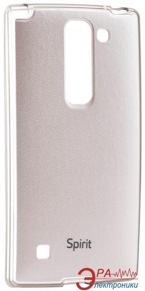 Чехол VOIA LG Optimus Spirit - Jell Skin White