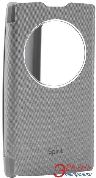 Чехол VOIA LG Optimus Spirit - Flip Case Silver
