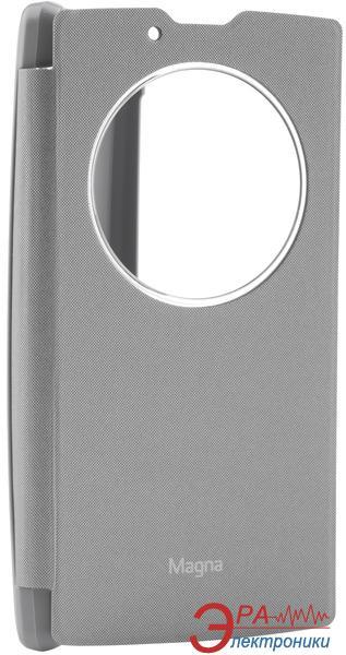 Чехол VOIA LG Optimus Magna - Flip Case Silver