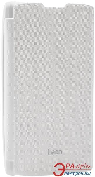 Чехол VOIA LG Optimus Leon - Flip Case White