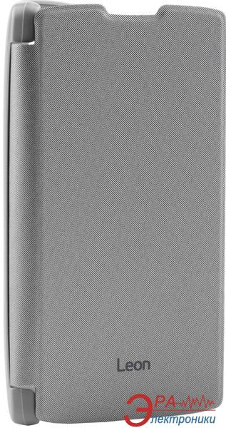 Чехол VOIA LG Optimus Leon - Flip Case Silver