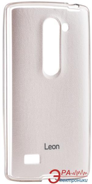 Чехол VOIA LG Optimus Leon - Jell Skin White