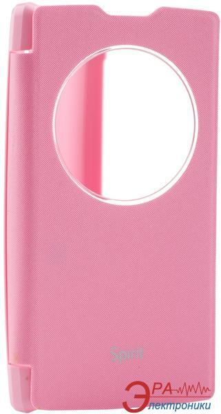 Чехол VOIA LG Optimus Spirit - Flip Case Pink