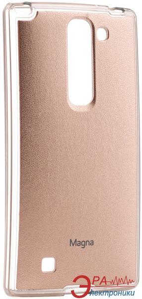 Чехол VOIA LG Optimus Magna - Jell Skin Gold