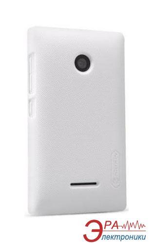 Чехол Nillkin Microsoft Lumia 532 - Super Frosted Shield White