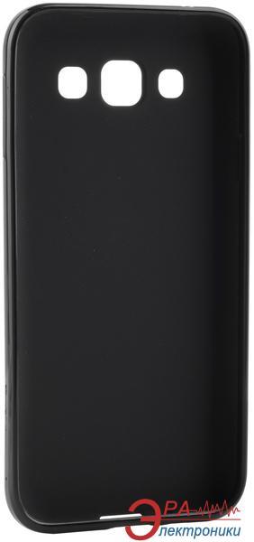 Чехол Melkco Samsung E5 Poly Jacket TPU Black (SSGLE5TULT2BKMT)