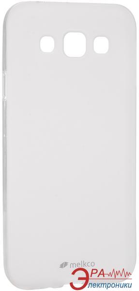 Чехол Melkco Samsung E5 Poly Jacket TPU Clear (SSGLE5TULT2TSMT)