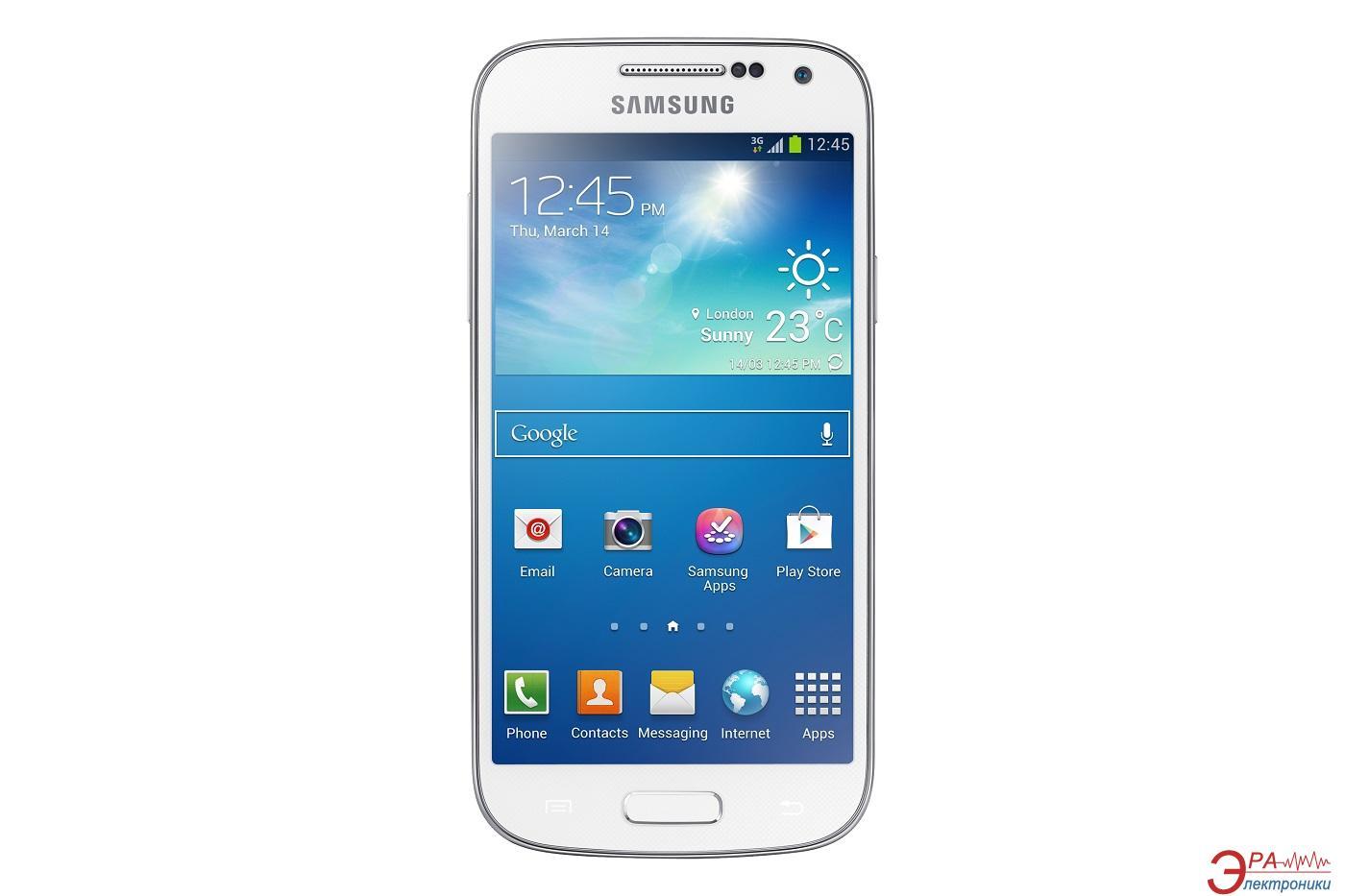 Смартфон Samsung GT-I9190 (Galaxy S4 mini) WHITE (GT-I9190ZWASEK)