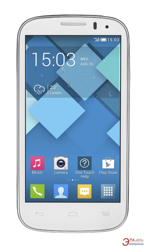 Смартфон Alcatel One Touch Pop C5 5036D Dual Sim (full white) (5036D-2AALUA1)