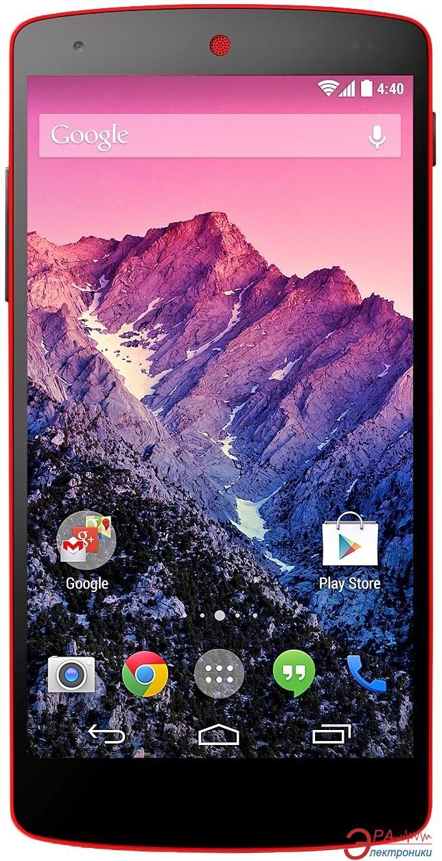 Смартфон LG D821 Nexus 5 16 Gb (red) (LGD821.ACISRD)