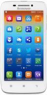 Смартфон Lenovo S650 Dual Sim (white) (P0P9000PUA)