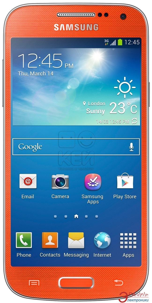 Смартфон Samsung GT-I9192 Galaxy S4 mini Duos ZOE (orange pop) (GT-I9192ZOESEK)