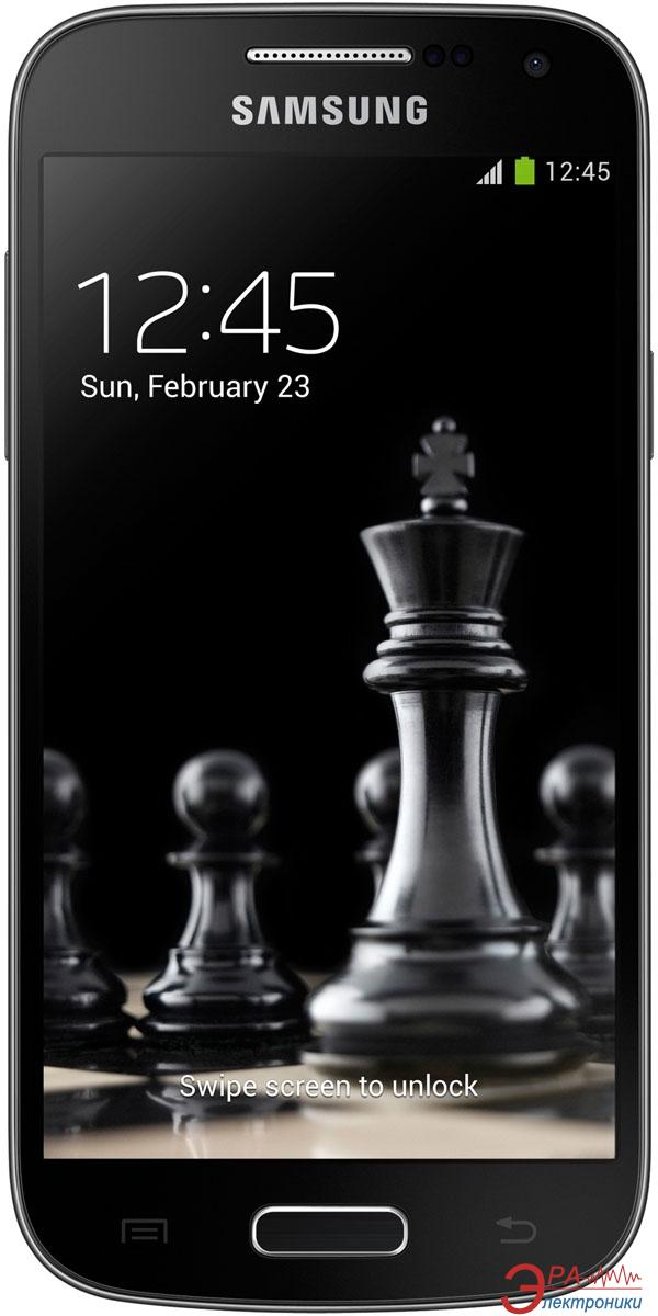 Смартфон Samsung GT-I9190 (Galaxy S4 mini) DEEP BLACK (GT-I9190DKYSEK)