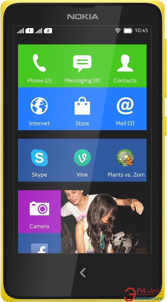 Смартфон Nokia XL Dual sim RM-1030 (br_yellow) (A00018647)