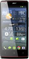 Смартфон Acer Liquid E380 (E3) DualSim Silver (HM.HE2EE.003)