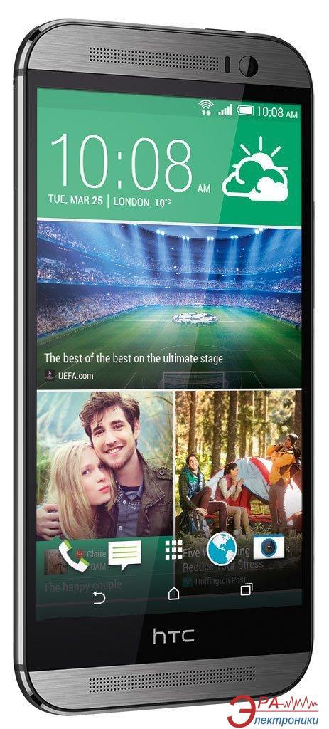 Смартфон HTC One (M8) Dual Sim Gunmetal Grey (4718487653157)