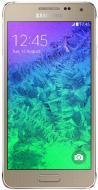 Смартфон Samsung Galaxy Alpha Gold (SM-G850FZDE)