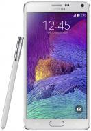 Смартфон Samsung GALAXY Note 4 White (SM-N910HZWESEK)
