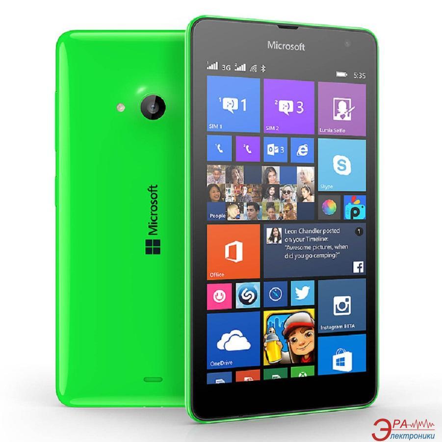Смартфон Microsoft Lumia 535 Dual Green (A00024262)