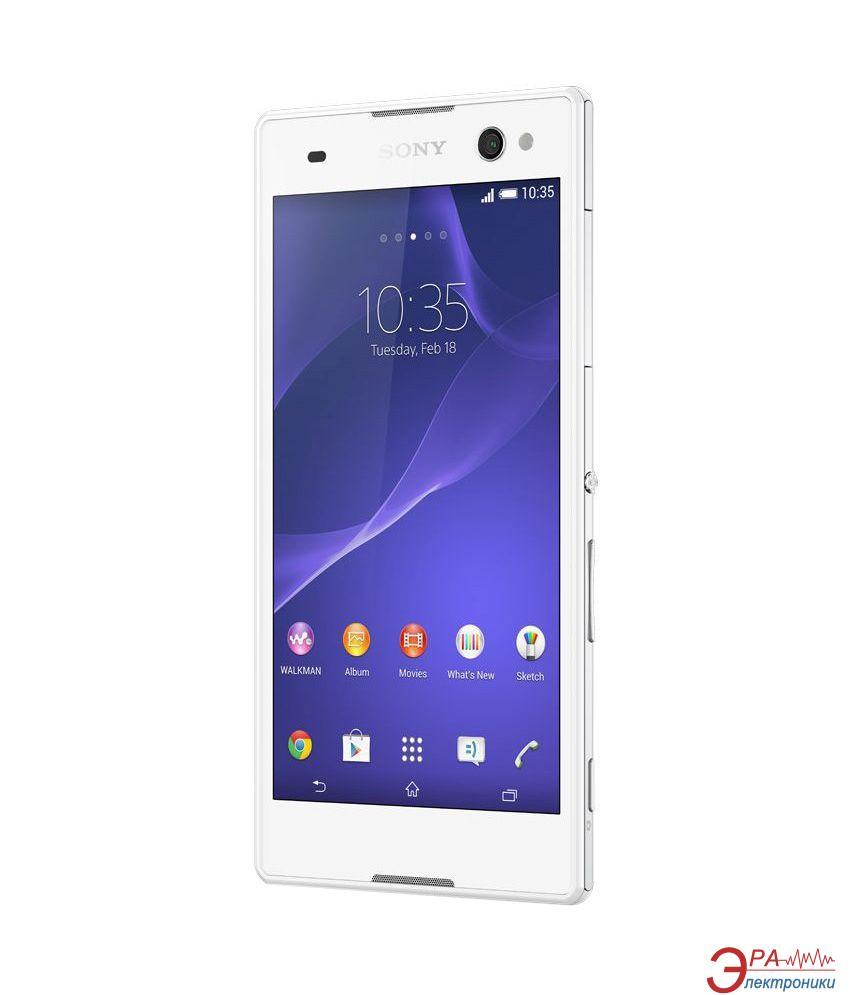 Смартфон Sony Xperia C3 D2502 White (1288-8015)