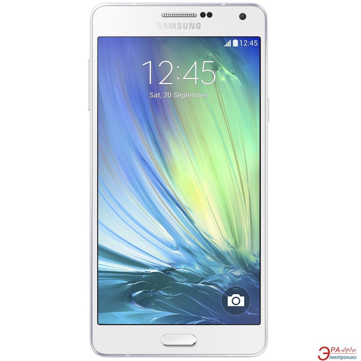 Смартфон Samsung Galaxy A7 Duos SM-A700H/DS White (SM-A700HZWD)