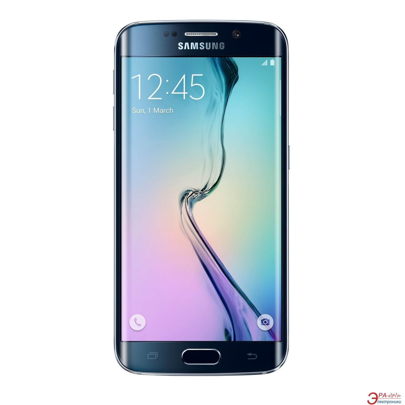 Смартфон Samsung Galaxy S6 Edge 64GB Black (SM-G925FZKESEK)
