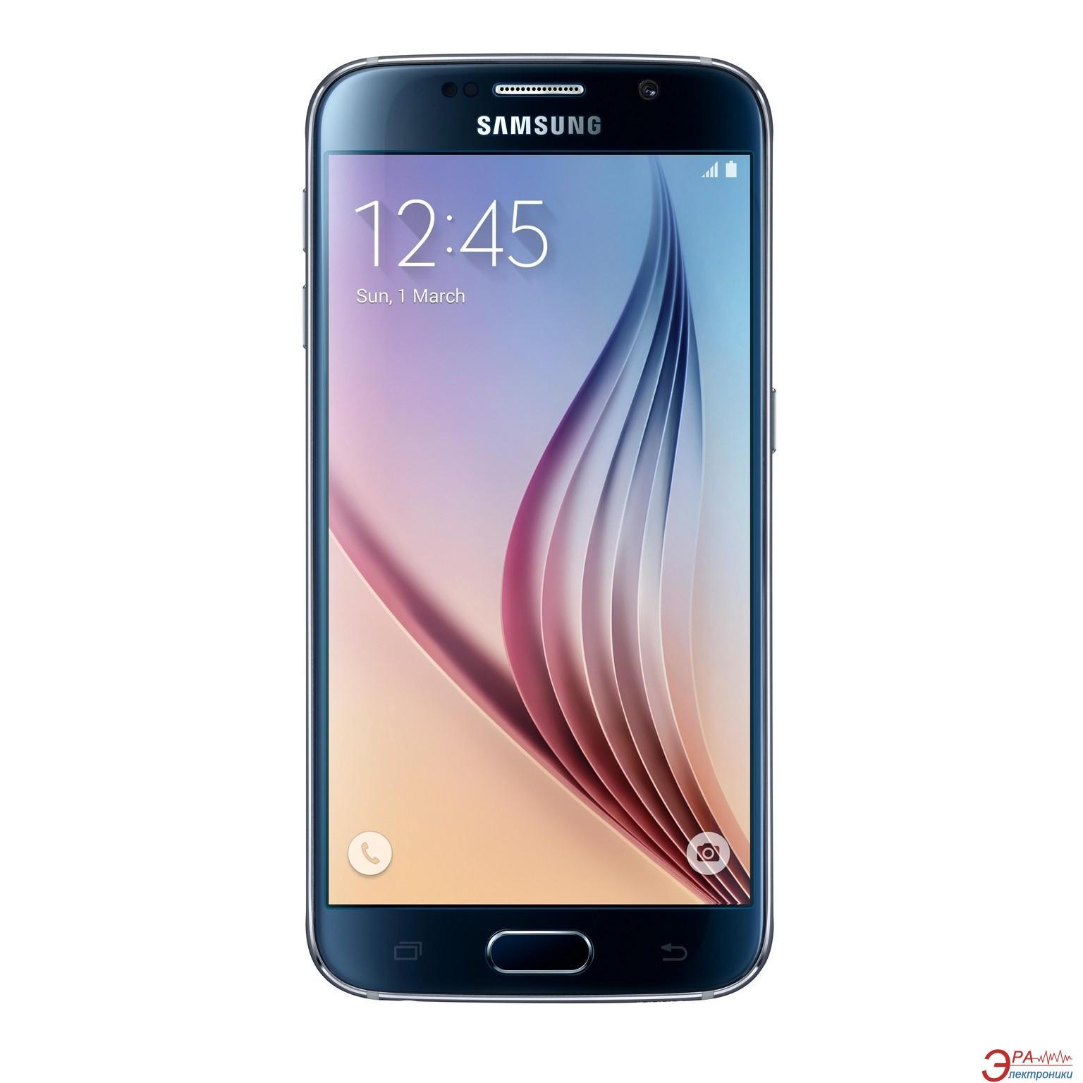 Смартфон Samsung Galaxy S6 DS 32GB G920FD Black (SM-G920FZKUSEK)