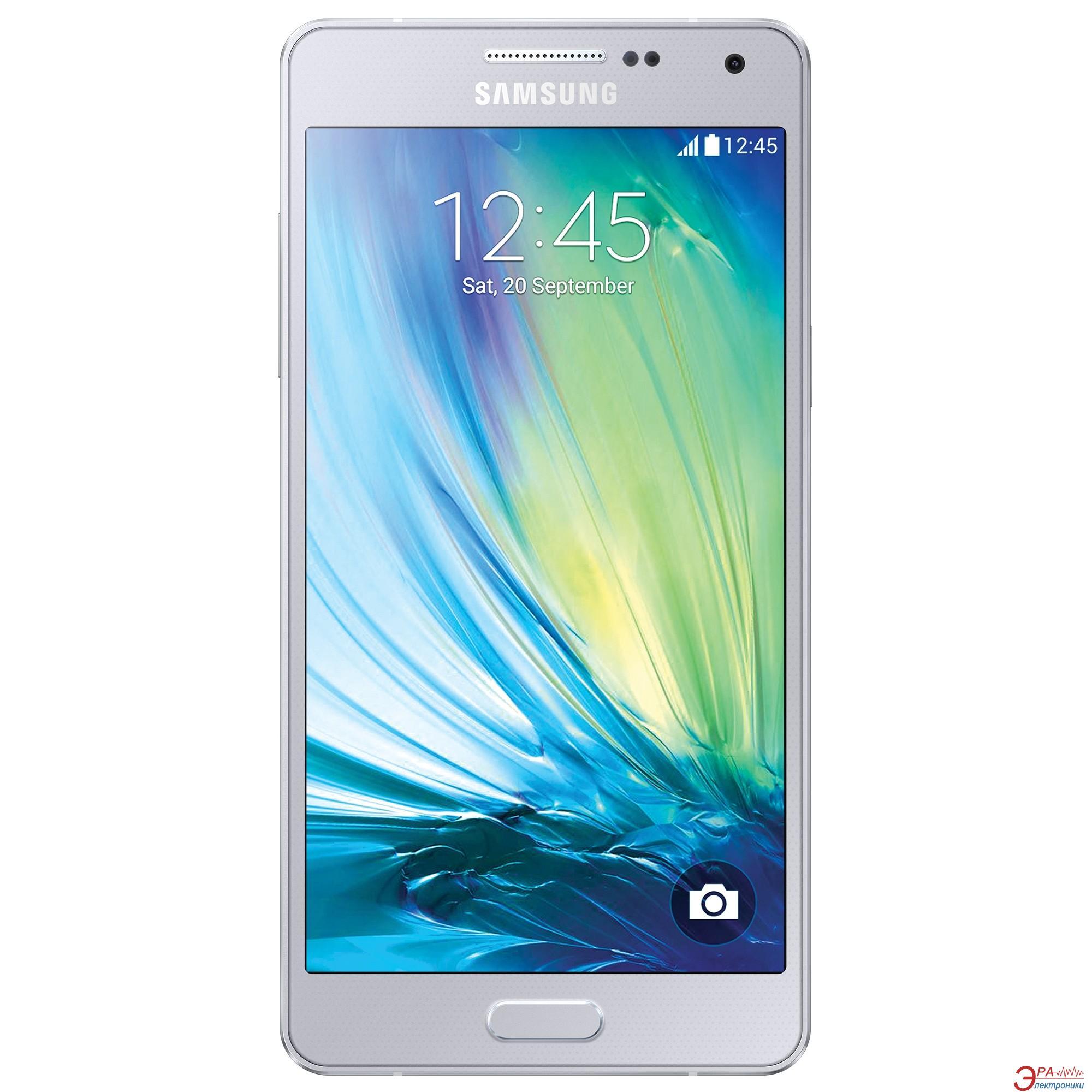 Смартфон Samsung Galaxy A5 DS SILVER (SM-A500HZSDSEK)