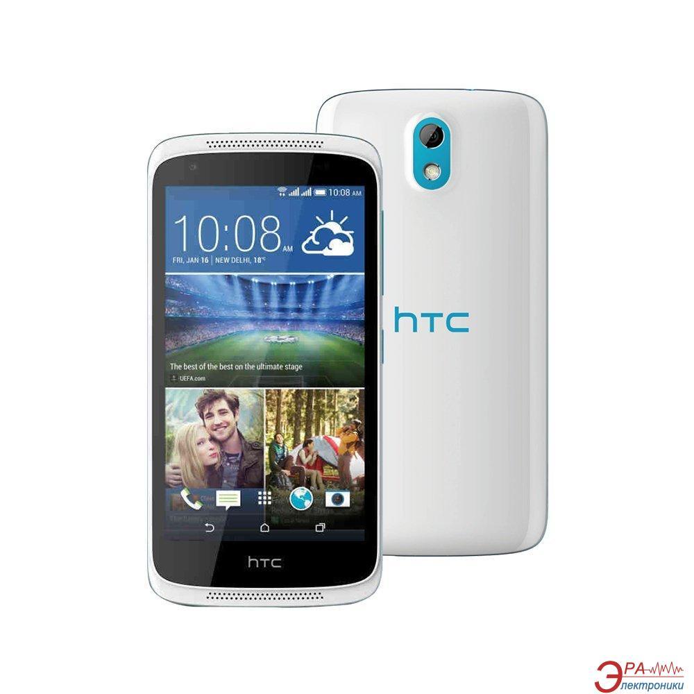 Смартфон HTC Desire 526g Dual Sim Terra White and Glacier Blue (4718487669950)