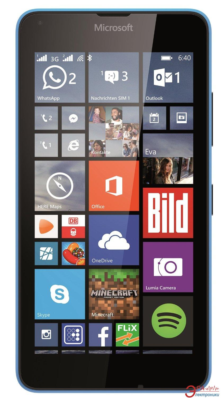 Смартфон Microsoft Lumia 640 DS Cyan (A00024644)