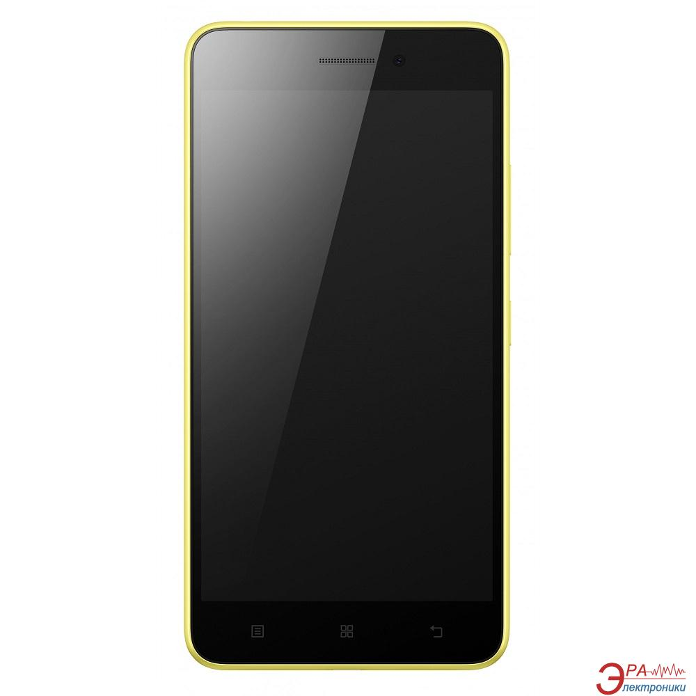 Смартфон Lenovo S60 Dual Sim Laser Yellow (P0SG001WUA)