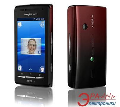 Смартфон SonyEricsson E15i X8 Black/ Red (1246-8308)