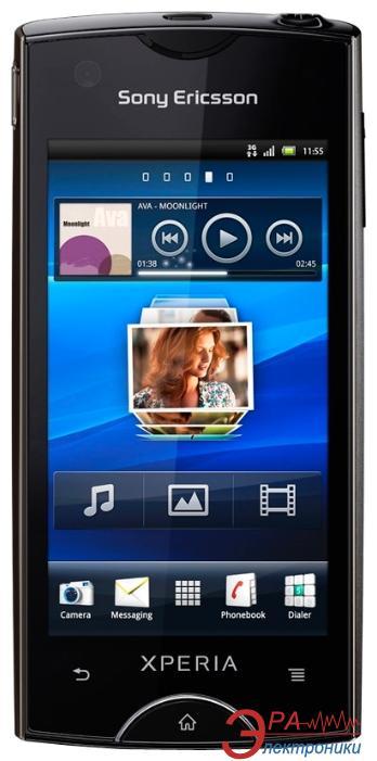 Смартфон SonyEricsson ST18i Ray Black