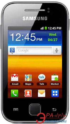 Смартфон Samsung GT-S5360 TKA Galaxy Y (absolute black) (GT-S5360TKASEK)