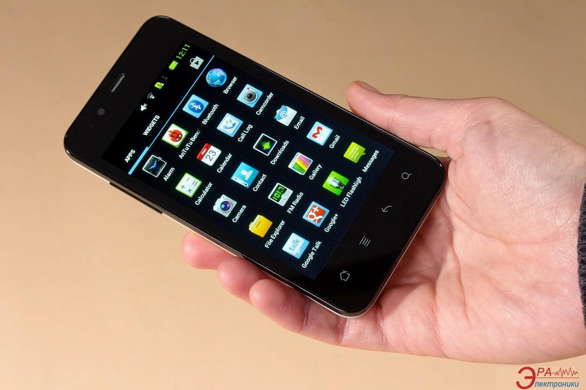 Смартфон Gigabyte GSmart RIO R1 Black (4712364754784) (4712364754784)