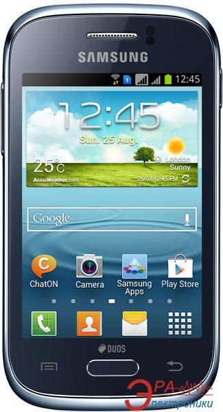 Смартфон Samsung GT-S6312 Duos Galaxy Young DBA (deep blue) (GT-S6312DBASEK)