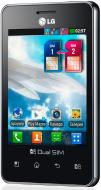 Смартфон LG Optimus L3 Dual E405 Black