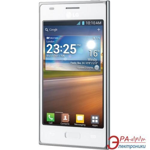 Смартфон LG Optimus L5 White (E612 )