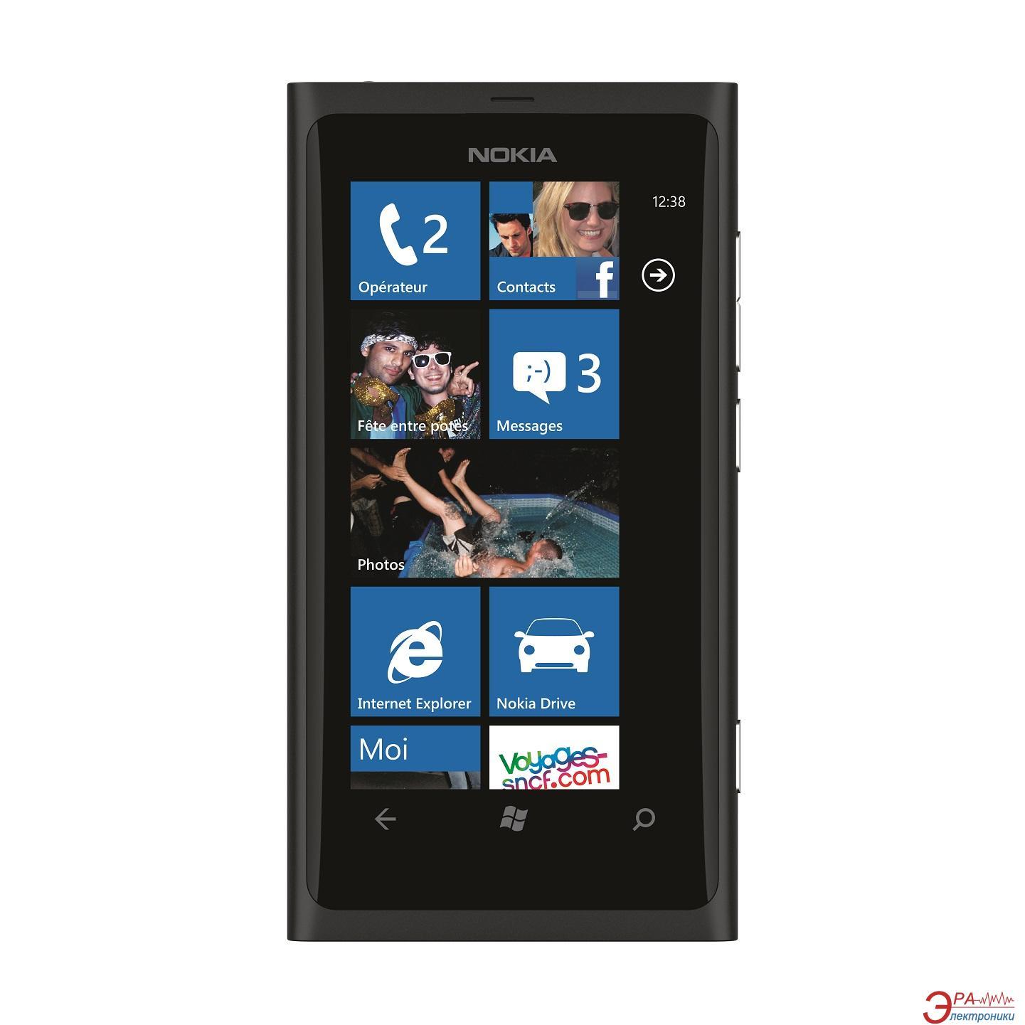 Смартфон Nokia Lumia 800 Matt Black (0020Q76)